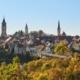 Blick auf die Altstadt von Rottweil